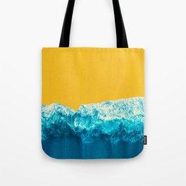 Yellow Tide Tote Bag