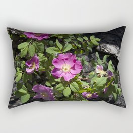 Wild Rose Phoenix Photograph Rectangular Pillow