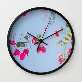 Bugambilia Wall Clock