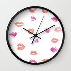 Kiss! Kiss! Wall Clock