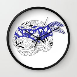 TMNT LEONARDO BLUE Wall Clock