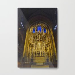 Alter at St Thomas Church on 5th Avenue, NYC Metal Print