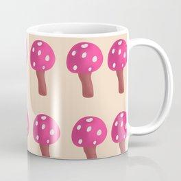 pink mushroom Coffee Mug
