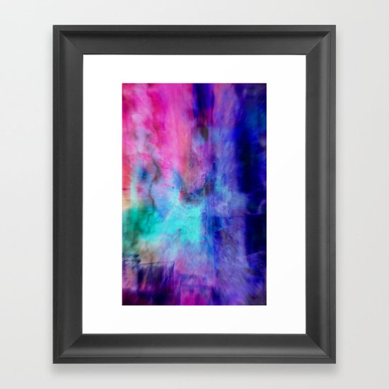 ZAPPED Framed Art Print