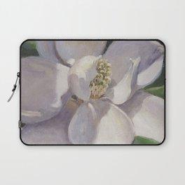 Magnolia Blossom Painting Laptop Sleeve