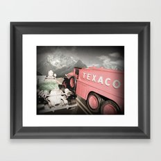 Passing Gas (With a Smile) Framed Art Print
