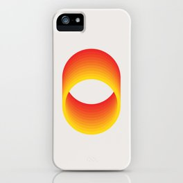 Circles - A 1960 Collection Piece iPhone Case