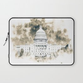 The Capitol Building Laptop Sleeve