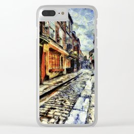 The Shambles York Van Gogh Clear iPhone Case