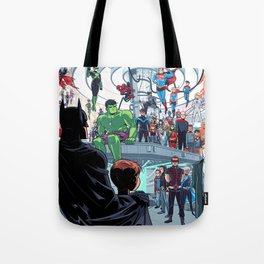 You'll Be Safe Here Tote Bag