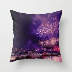 Happy Birthday America -1 Throw Pillow