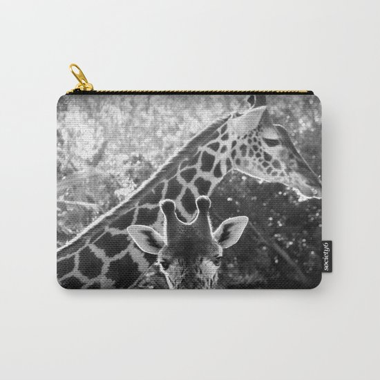 two giraffes Carry-All Pouch