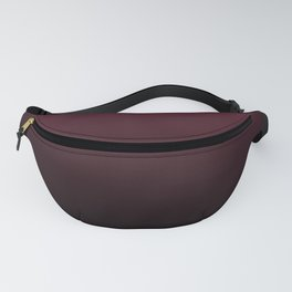 Burgundy Wine Ombre Gradient Fanny Pack