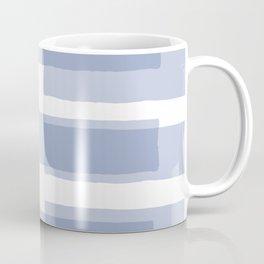 Big Stripes in Light Blue Coffee Mug