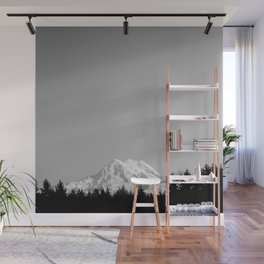 Mt. Rainier Wall Mural
