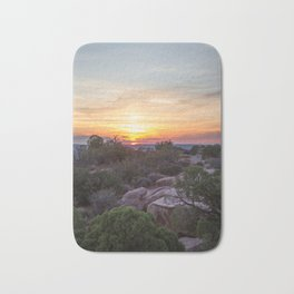 A Sunset Unlike Any Other Bath Mat
