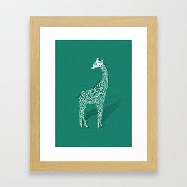 Animal Kingdom: Giraffe III Framed Art Print