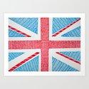 UK Flag by sinonelineman