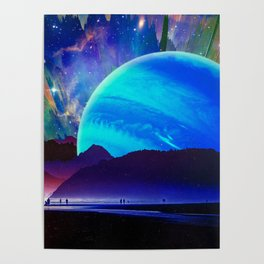 A Sunday Afternoon On The Island Of A Distant Planet Poster