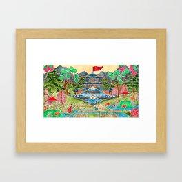 The Nightingale Series - 1 of 8 Framed Art Print