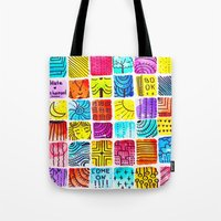 school Tote Bags featuring School by Verismaya
