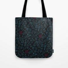 Crystals Pattern Tote Bag