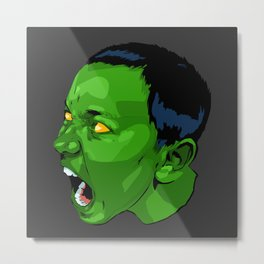 mini Hulk Metal Print