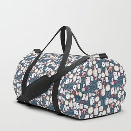 Alice in Wonderland - Six Impossible Things Duffle Bag