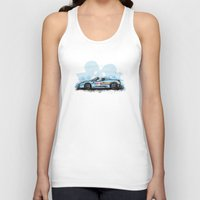 deadmau5 Tank Tops featuring Deadmau5's Purrari 458 Spider by an.artwrok