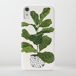 Fiddle leaf fig Tree iPhone Case