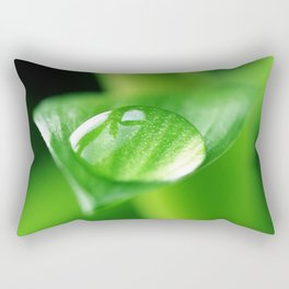 Bamboo with water drops pictures Rectangular Pillow