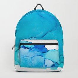 Blue Infinity Backpack