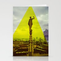 milan Stationery Cards featuring Milan by natsnats