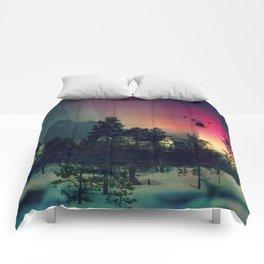 Polar Bar Nebula Comforters
