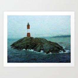 Les Eclaireurs Lighthouse Art Print