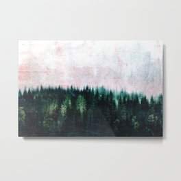 Deep dark forests Metal Print