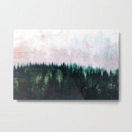 Deep dark forests Metal Print