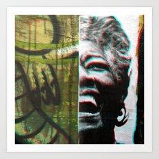 Soar, inspire; natural gestures ignite truth. Art Print