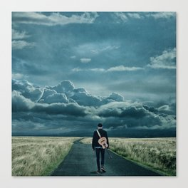 In Search of a Song Canvas Print