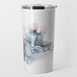 Abstract Alcohol Ink 6248 Travel Mug