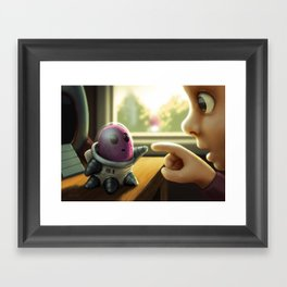 First Contact Framed Art Print