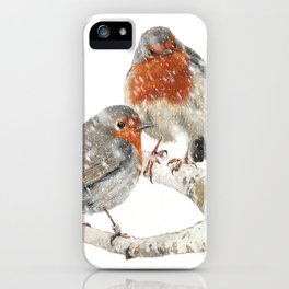 Robins iPhone Case