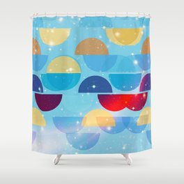 Half Measures Shower Curtain