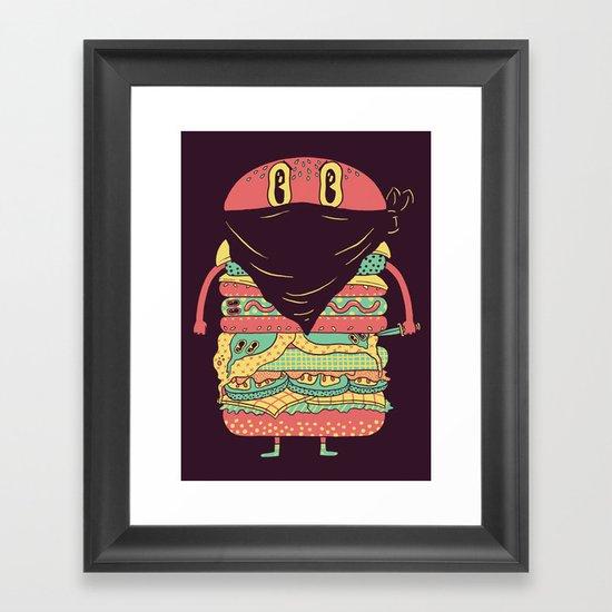 McRobber Framed Art Print