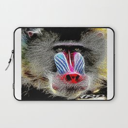 Primate Models: Mandrill Baboons 01-02 Laptop Sleeve