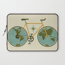 Ride For The World Laptop Sleeve