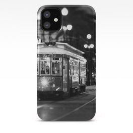 New Orleans Canal Street at Night iPhone Case