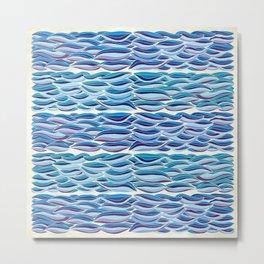 The High Sea Metal Print