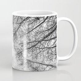 Naked trees #2 - Black and white Coffee Mug
