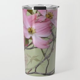 PINK FLOWERING DOGWOOD Travel Mug